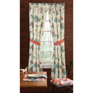 "NWT The Pioneer Woman Country Garden Pane40"" x 84"""